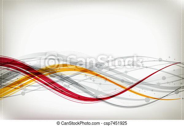 abstrakt formgiv, din, baggrund - csp7451925