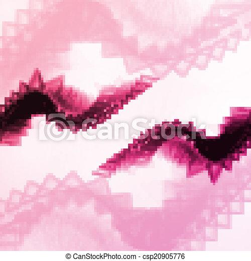 abstrakt, illustration, drage - csp20905776