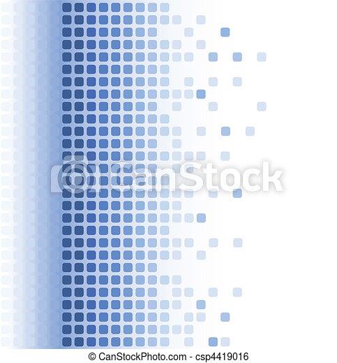 abstrakt, mosaik, baggrund - csp4419016