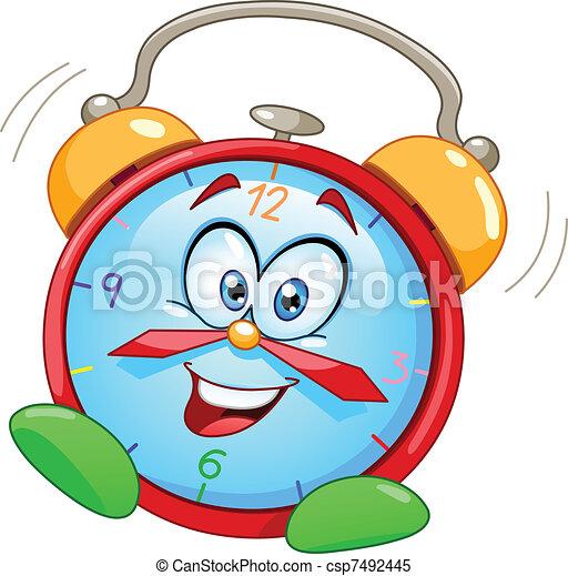 alarm, cartoon, stueur - csp7492445