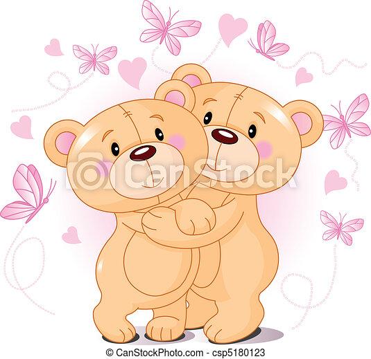 bjørne, teddy, constitutions - csp5180123