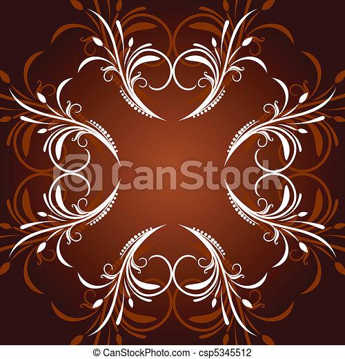 blomstrede, komposition - csp5345512