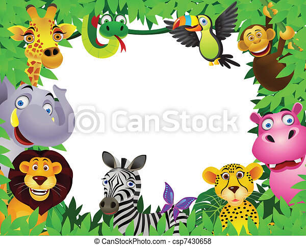 cartoon, dyr - csp7430658