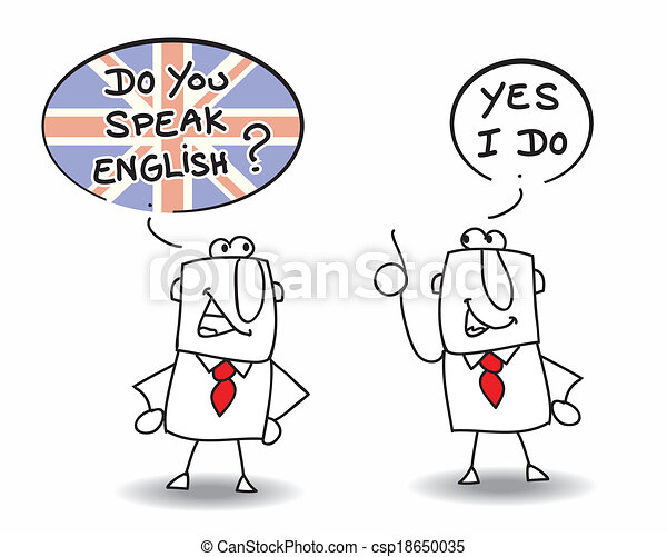 du, tal, engelsk - csp18650035