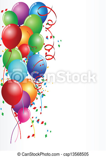 fødselsdag fejren - csp13568505