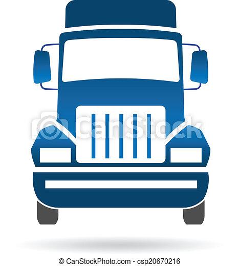 forside, logo, image, lastbil - csp20670216