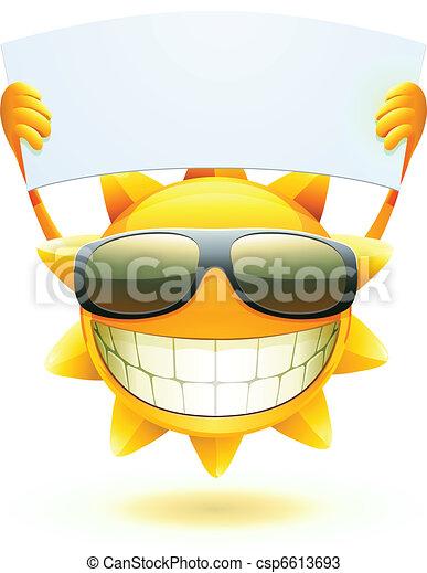 glade, sol, sommer - csp6613693