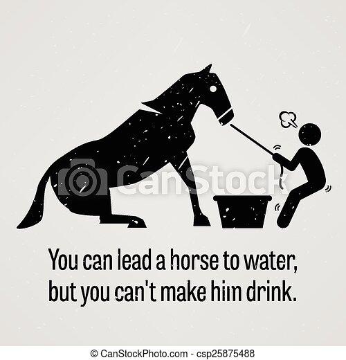 hest, forspring, frelser, vand, dåse, y, du - csp25875488
