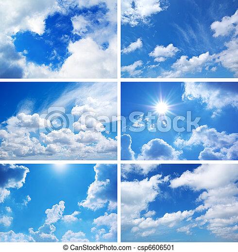 himmel, samling - csp6606501