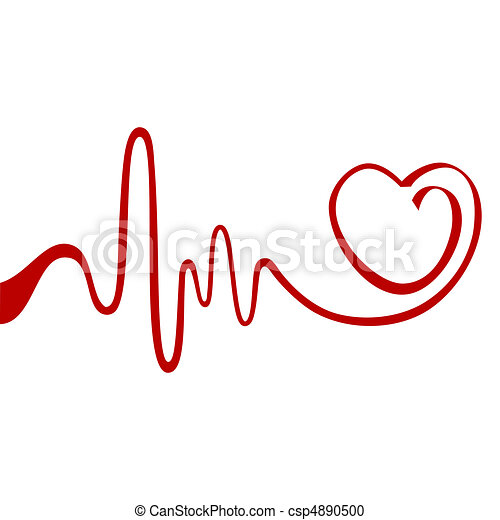 hjerte, abstrakt - csp4890500