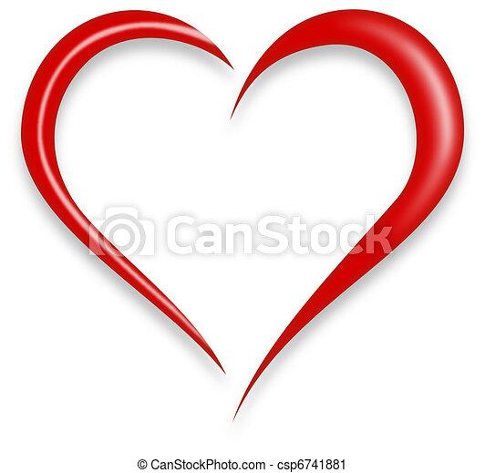 hjerte, constitutions - csp6741881