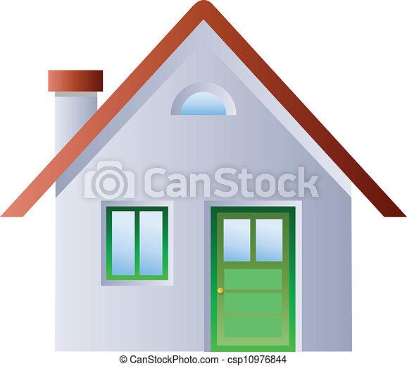 hus, illustration - csp10976844