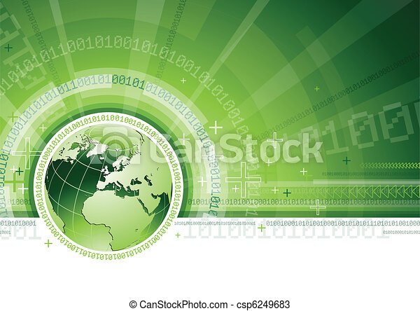 kommunikationer, globale - csp6249683