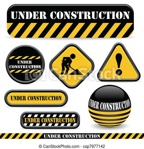 konstruktion, under - csp7977142