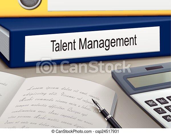 ledelse, talent, bind - csp24517931