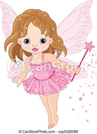 liden, baby, fairy, cute - csp5326088