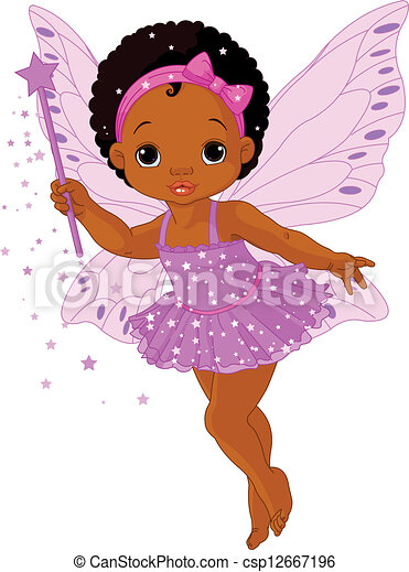 liden, baby, fairy, cute - csp12667196