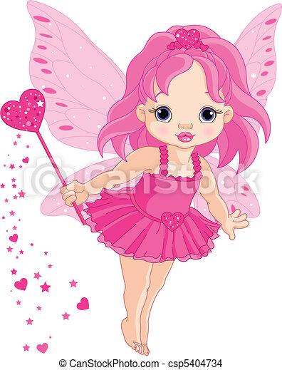 liden, fairy, constitutions, baby, cute - csp5404734