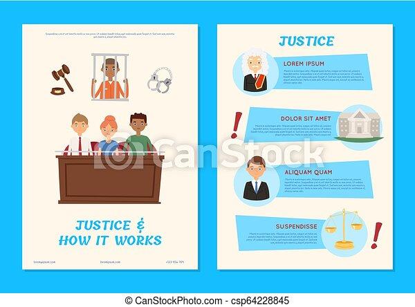lov bane, courthouse, folk, retfærdighed, juridiske, karakter, lovlig, vektor, illustration, baggrund, fængsel, dommer, forbryder, bedømmelse, bagtæppe - csp64228845