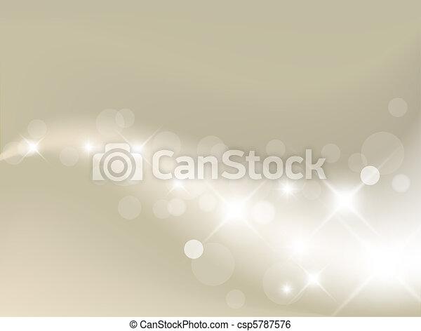 lys, baggrund, sølv, abstrakt - csp5787576