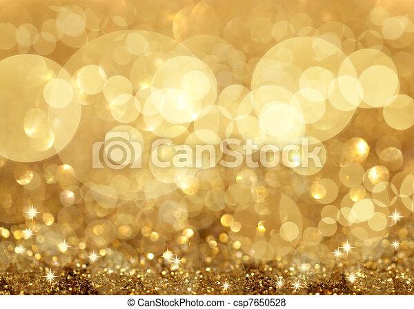 lys, jul, baggrund, stjerner, twinkley - csp7650528