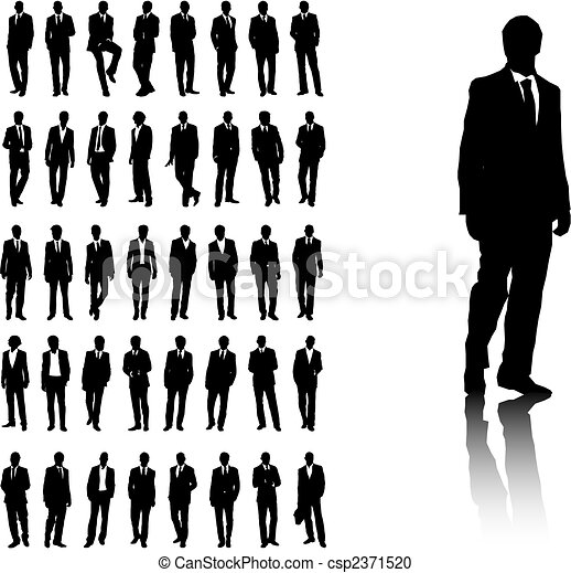mænd, firma - csp2371520
