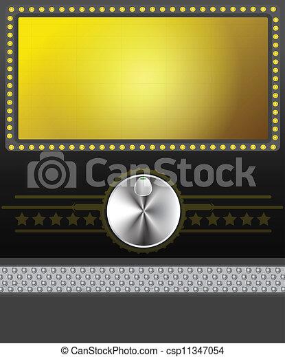 movie skærm, banner, eller - csp11347054
