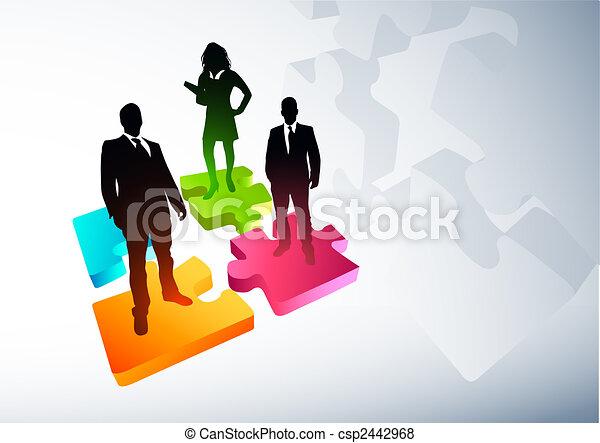 ny branche, strategier - csp2442968