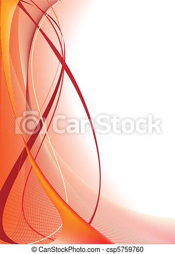 orange baggrund, abstrakt - csp5759760