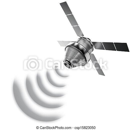 satellit, isoleret - csp15823050