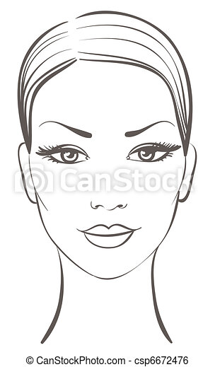 smuk kvinde, zeseed - csp6672476