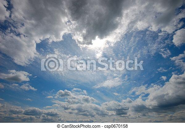 smukke, himmel - csp0670158