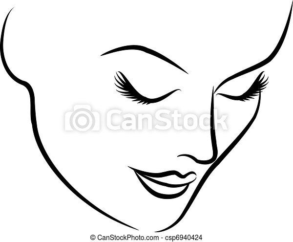 smukke, mode, kvinde, zeseed - csp6940424