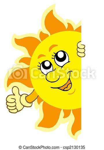 sol, lurking, hænder - csp2130135