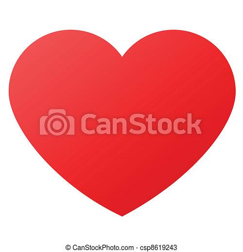 symboler, hjerte form, constitutions - csp8619243