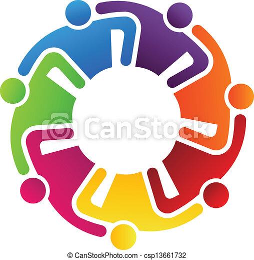 teamwork, hugging, 7 - csp13661732