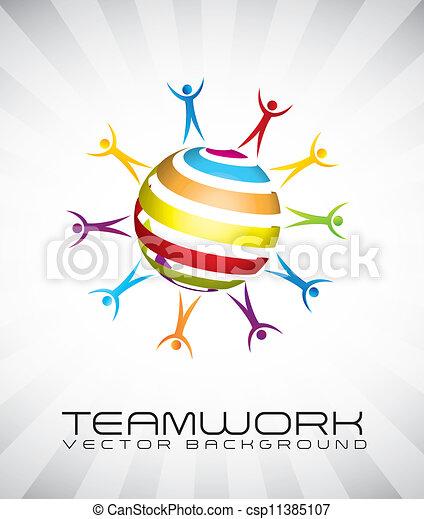 teamwork - csp11385107