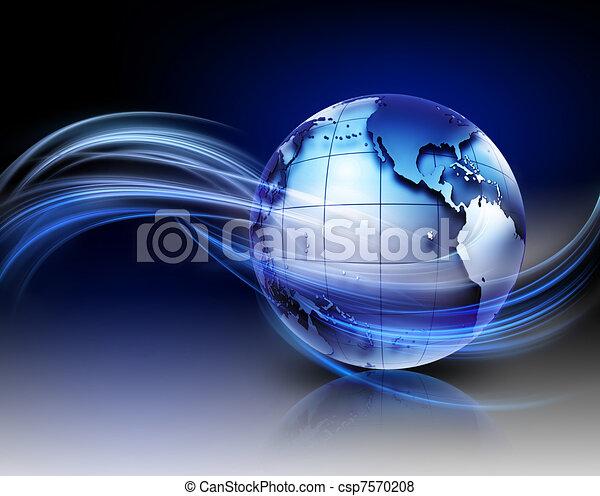 teknologi, baggrund - csp7570208
