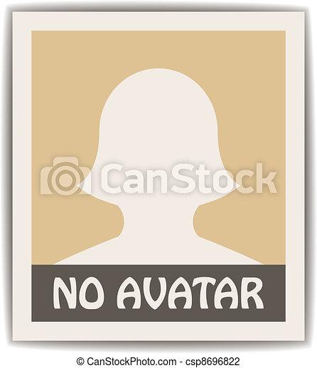 vektor, avatar, kvindelig - csp8696822