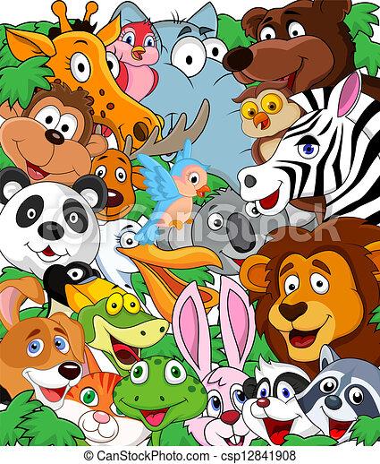 vildt dyr, baggrund - csp12841908